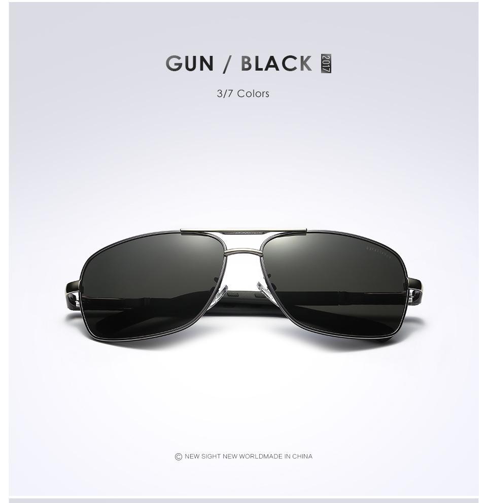 Jenis kacamata: Kacamata Hitam; Lensa Atribut Optik: UV400 Terpolarisasi; Bingkai .
