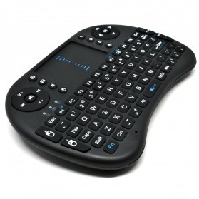 Keyboard Wireless 2.4GHz dengan Touch Pad & Fungsi Mouse - Black - 5