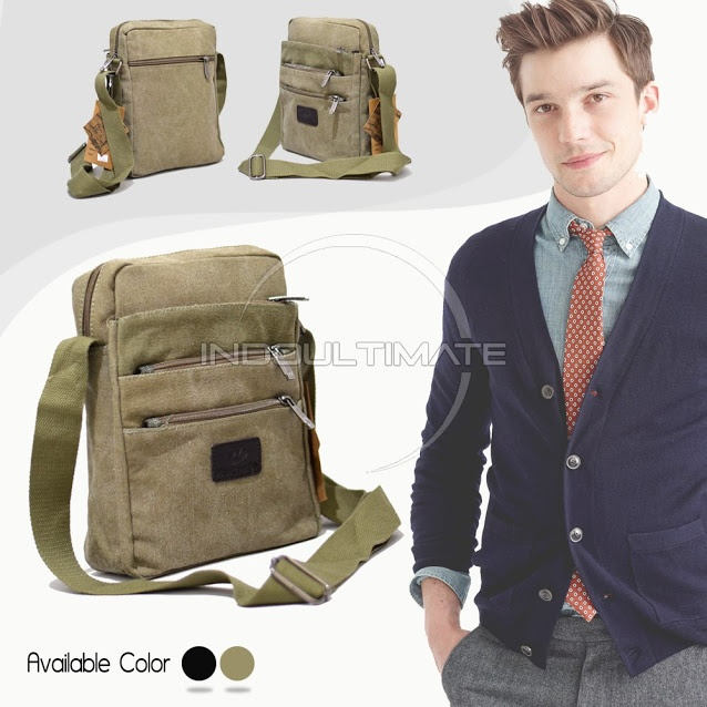 ... Pria Sling Bag Source · Tas Gadget Tablet Sling Bag Visval Source Kantung Belakang beresliting