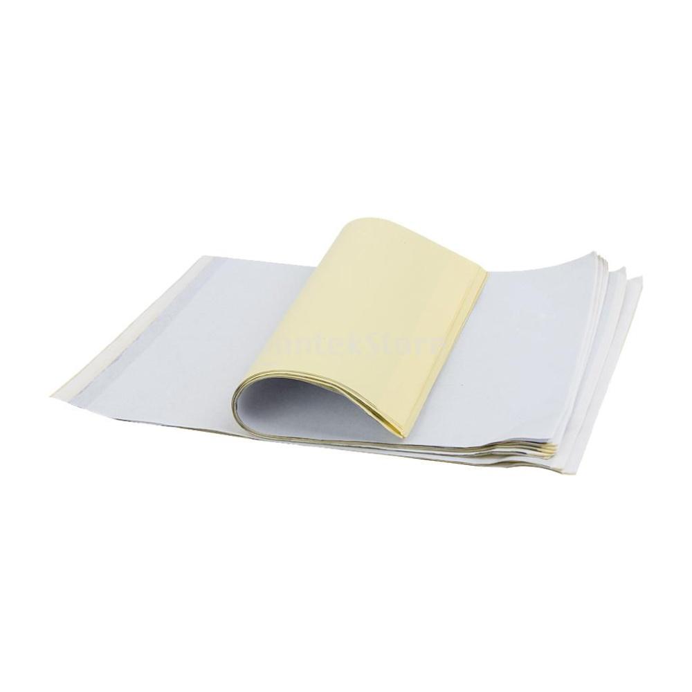 Harga Penawaran Emisi Termal Kertas Stensil Transfer Untuk Kit Tinta Paper 1 X 10 Sheet Tattoo