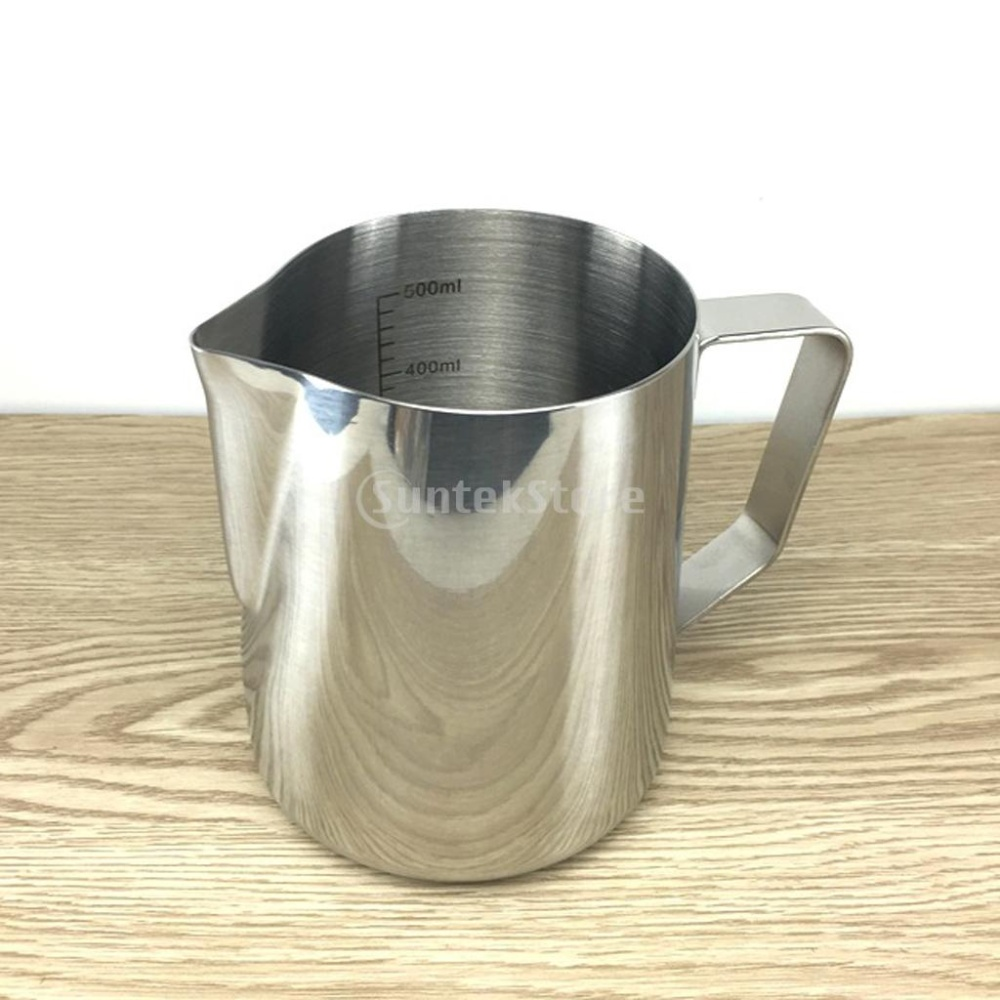 BolehDeals Stainless Steel Espresso Coffee Pitcher Kerajinan Latte Susu Buih Kendi 350 Ml-Intl. Source. ' 1 Piece Coffee Pitcher. Note: Due to the light and ...