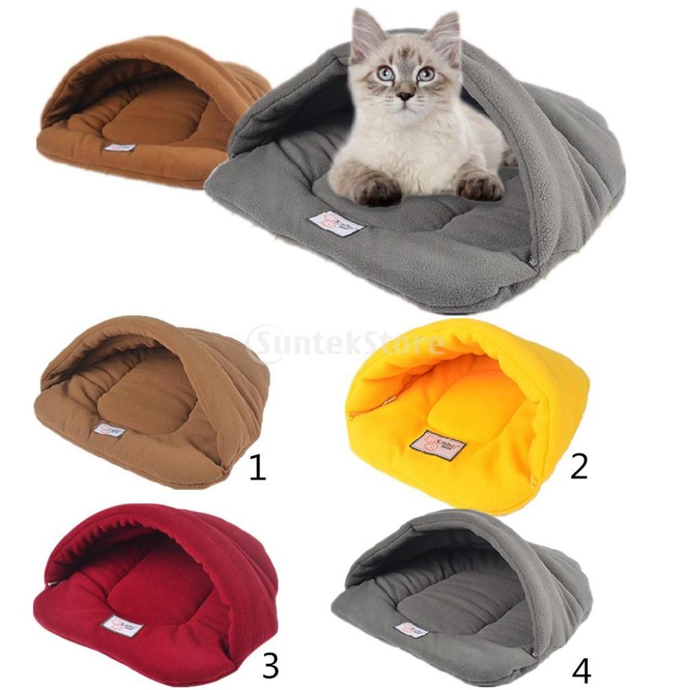 BolehDeals Anjing Peliharaan Rumah Sarang Tempat Tidur KucingKandang Dan Sleeping Bag Tikar ...
