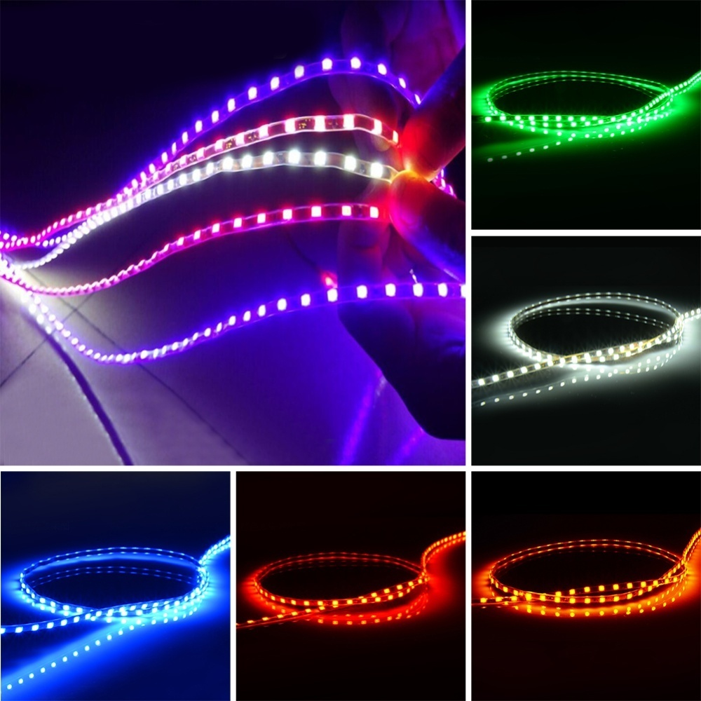 Kehebatan Moonar 90cm New Style Colorized Long Car Chassis Tire Led Source · Package Included 1 Car LED Light Bar