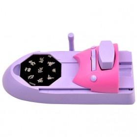 Mesin Cetak Kuku Nail Art Printer - Purple - 4
