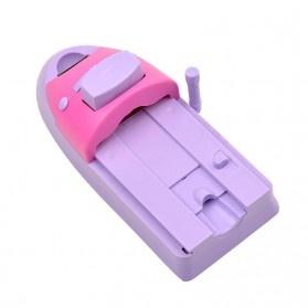 Mesin Cetak Kuku Nail Art Printer - Purple - 3