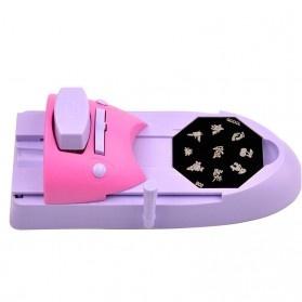 Mesin Cetak Kuku Nail Art Printer - Purple - 7