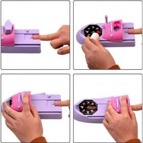 Mesin Cetak Kuku Nail Art Printer - Purple - 6