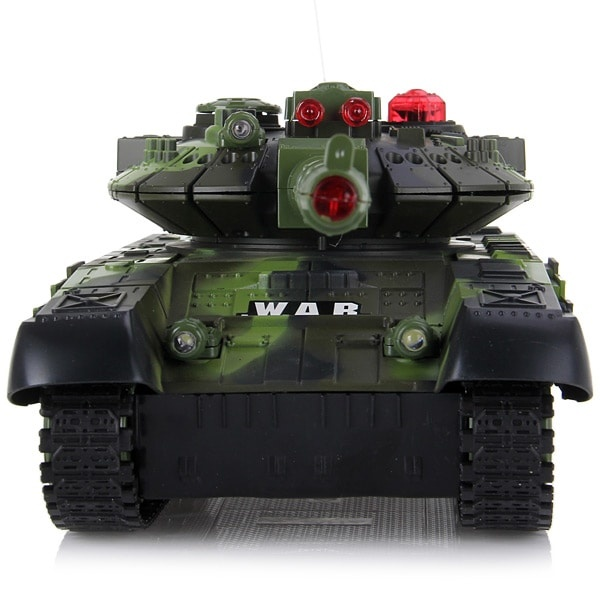9993 Full Function Wireless RC War Tank with Lights and Sound ( AC 220 - 240V Charger )