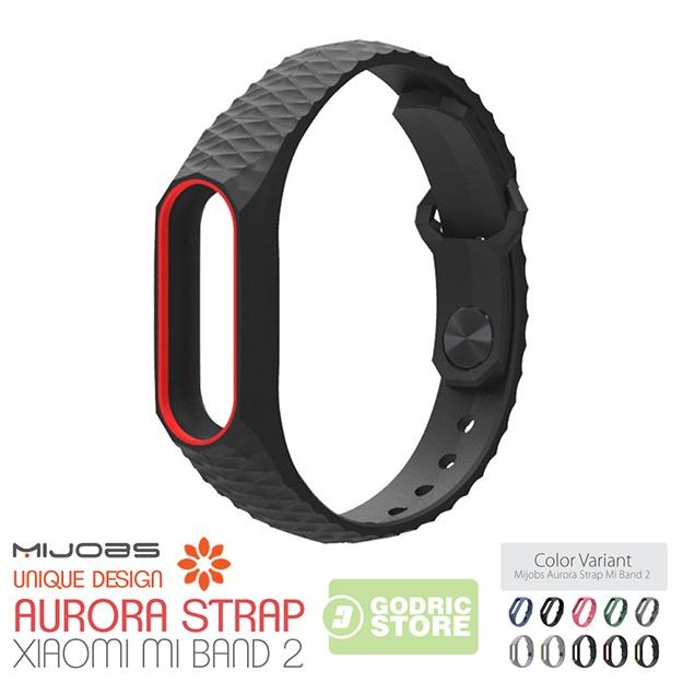 1 x Mijobs Aurora Strap For Xiaomi Mi Band 2 (Mi Band not Included) photo Hitam-Merah-Polos_zpst3l7drxv.jpg photo Grey ...