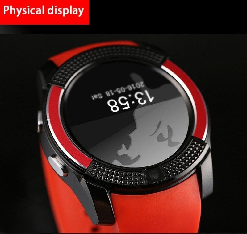 Product details of V8 Bluetooth Smart Watch with SIM Card Slot Round IPS Camera Smartwatch for IOS and Android PK GT08 DZ09 U8