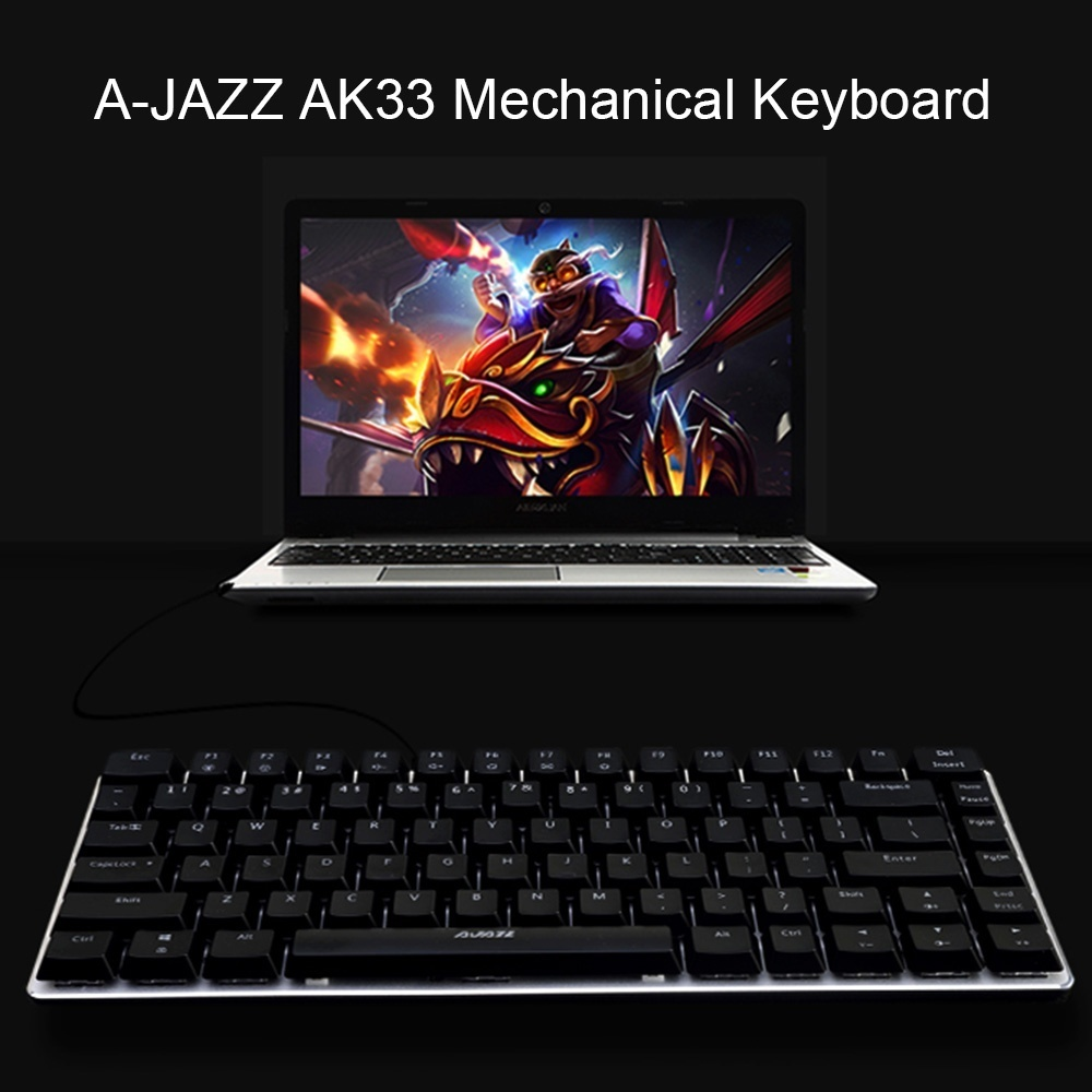 Lolcf Backlit Gaming Computer Luminescence Mechanical Touchnotebook Predator Mt K9340 Keyboard Semi A Jazz Blue Switch With Fast Response Good Tactile Feedback And