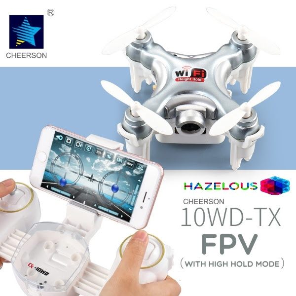 ... 6 Axis Quadcopter . Source · Cherson CX-10WD-TX with Remote Control WIFI FPV With 0.3MP Camera Altitude