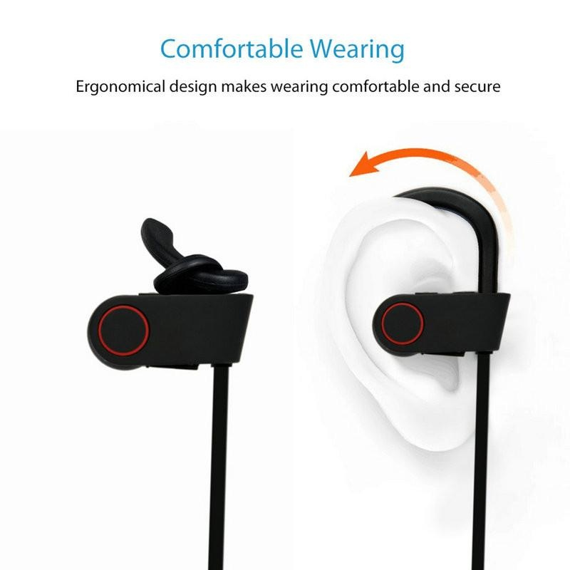 niceEshop bluetooth earphone headphone di telinga OXoqo olahraga Source · When speaking by using the built