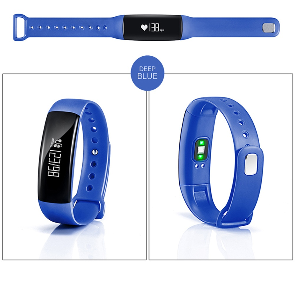 Goophone M88 Smart Bracelet Blood Pressure Heart Rate Tracker Wristband