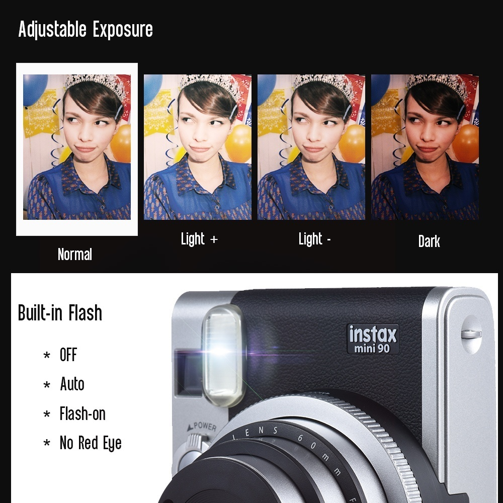 Perbandingan Harga Fujifilm Instax Mini 90 Neo Classic Instant Wide Film Monochrome Single 20 Lembar Neoclassic Camera Open A New Shooting World With Multiple Modes Such As Macro Photography Double