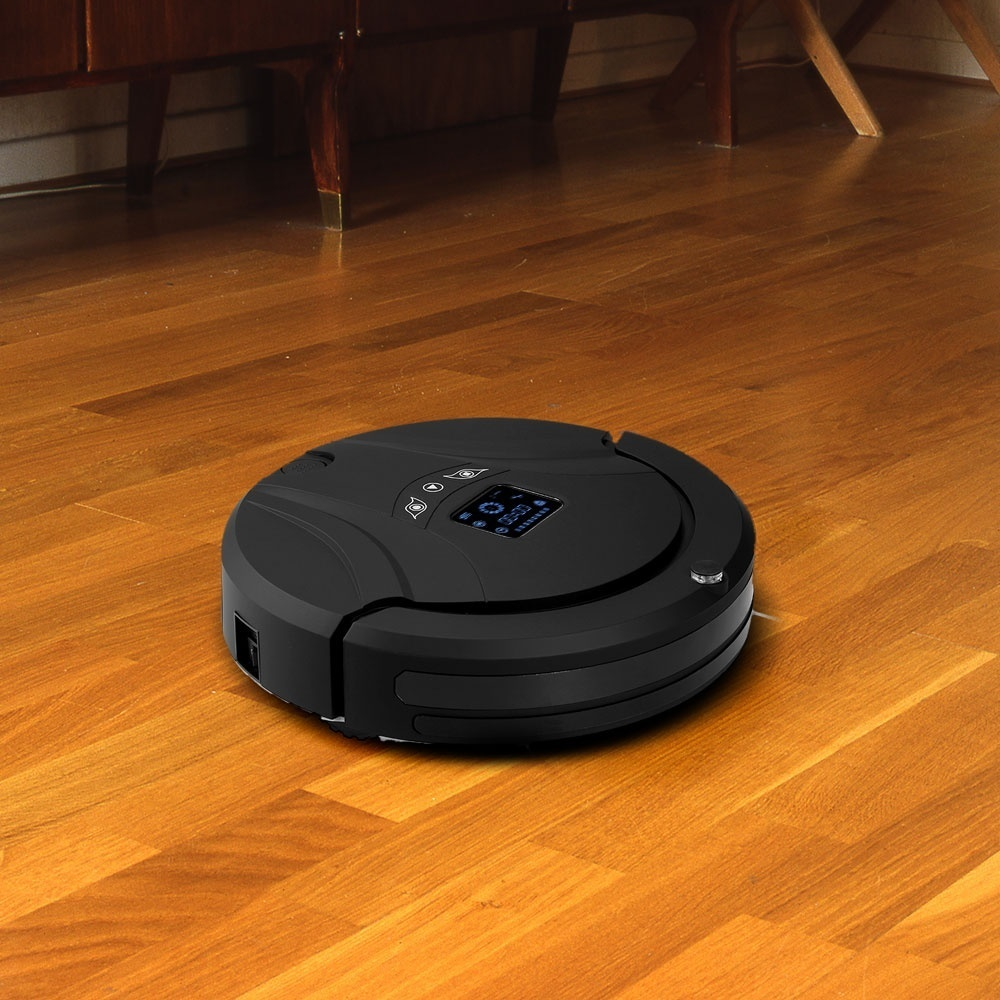Want to own an intelligent Robotic Vacuum Cleaner with Water Tank Mop? Try this one. The brand new vacuum cleaner is the reliable vacuum cleaning robot with ...
