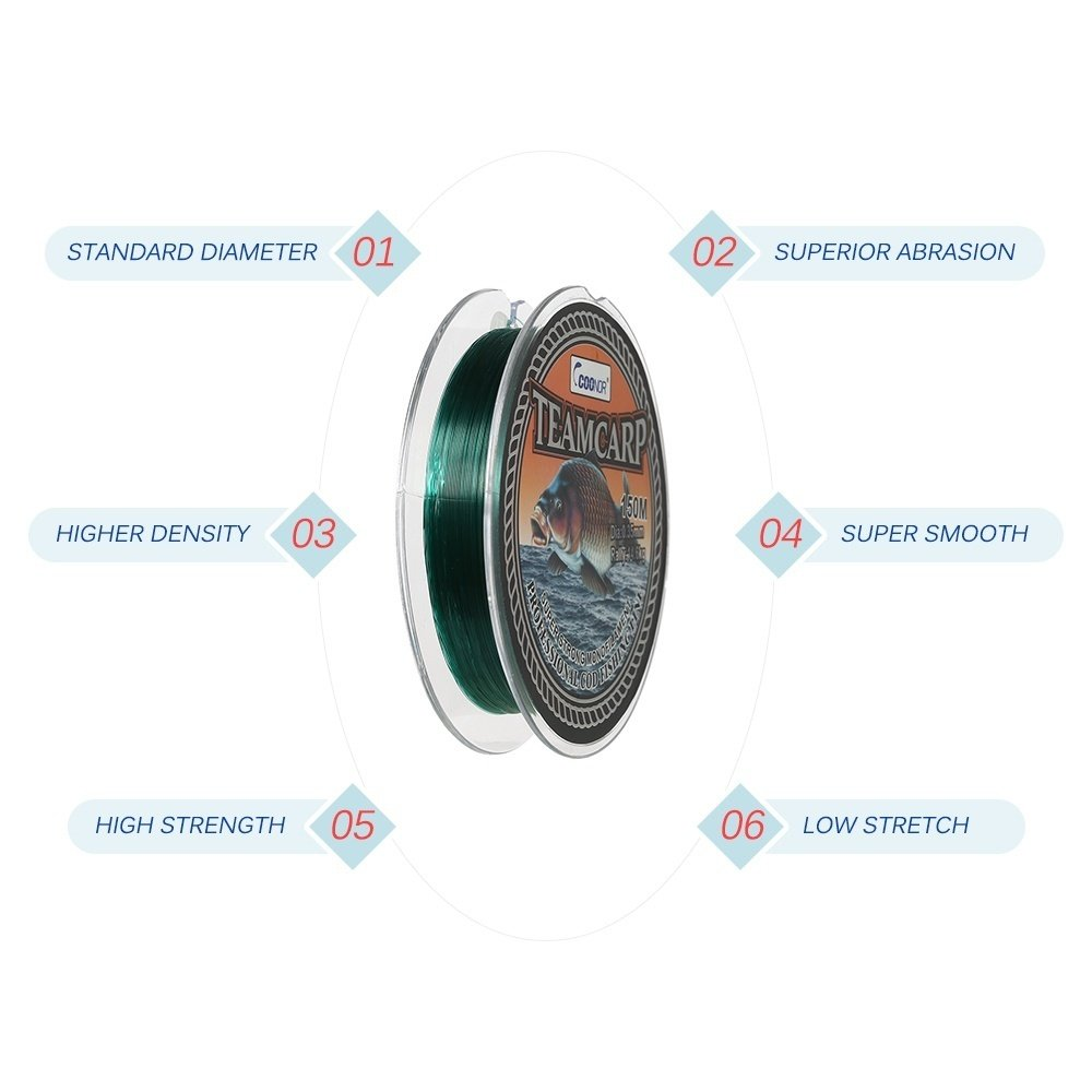 This fishing line would bring you an excellent fishing experience with extreme durability, high abrasive