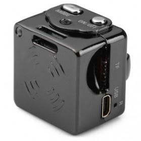 SQ8 Mini DV Camera 1080P Full HD Car DVR Aluminium - Black - 5