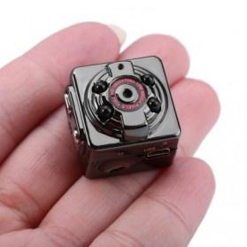 SQ8 Mini DV Camera 1080P Full HD Car DVR Aluminium - Black - 1