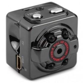 SQ8 Mini DV Camera 1080P Full HD Car DVR Aluminium - Black - 4