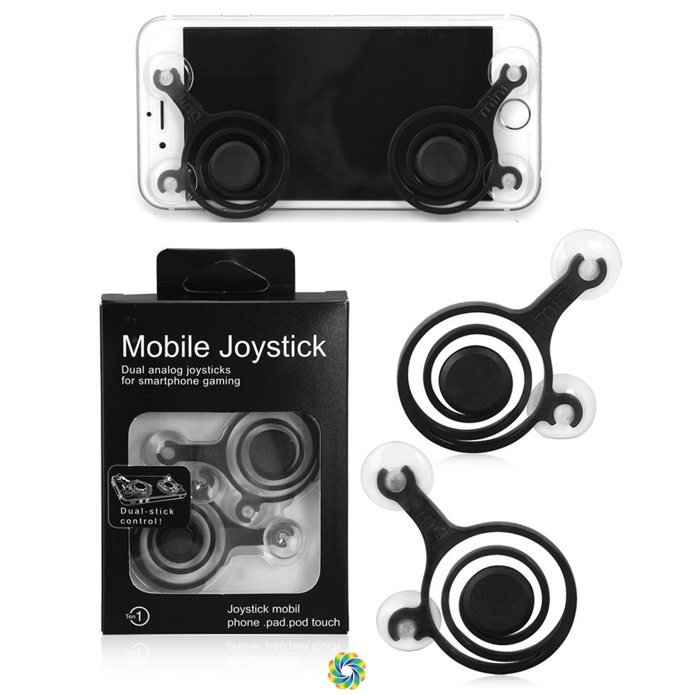Fling Joystick High Quality 2 pcs Mini Gadget Controller Game Pad MOBA Mobile Legend AOV Heroes Evolved for iPhone Samsung Xiaomi Sony Oppo LG Lenovo Nubia ...