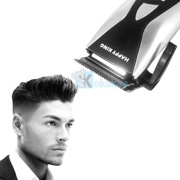 Kokakaa Alat Pencukur Rambut Happy King HK-803 - Hitam Silver. Happy King Profesional Hair Clipper adalah mesin potong rambut murah dan praktis, ...