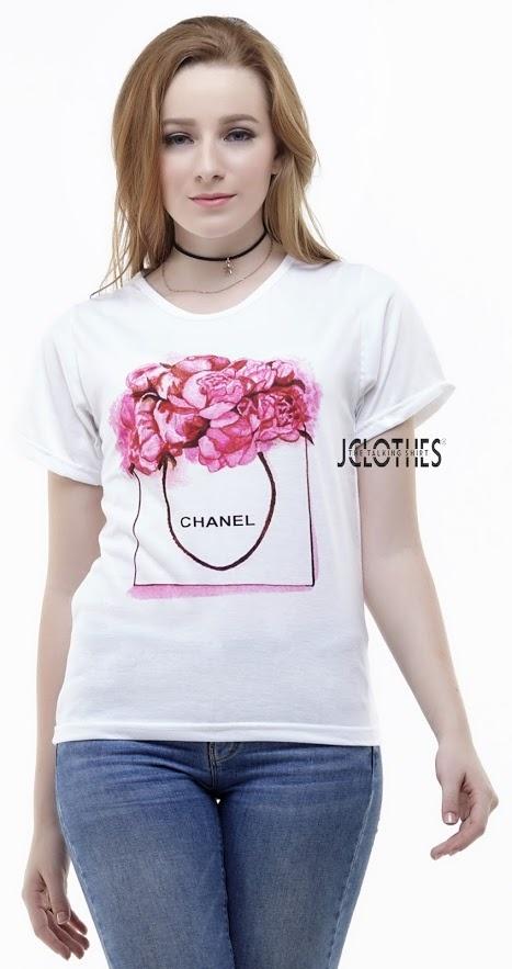 Bahan: Cotton Combed 30s (kualitas terbaik untuk kategori kaos) Ukuran: All Size (Fit to S-L Wanita) Lingkar Dada: 90 cm. Panjang: 60 cm Rekomendasi Berat ...