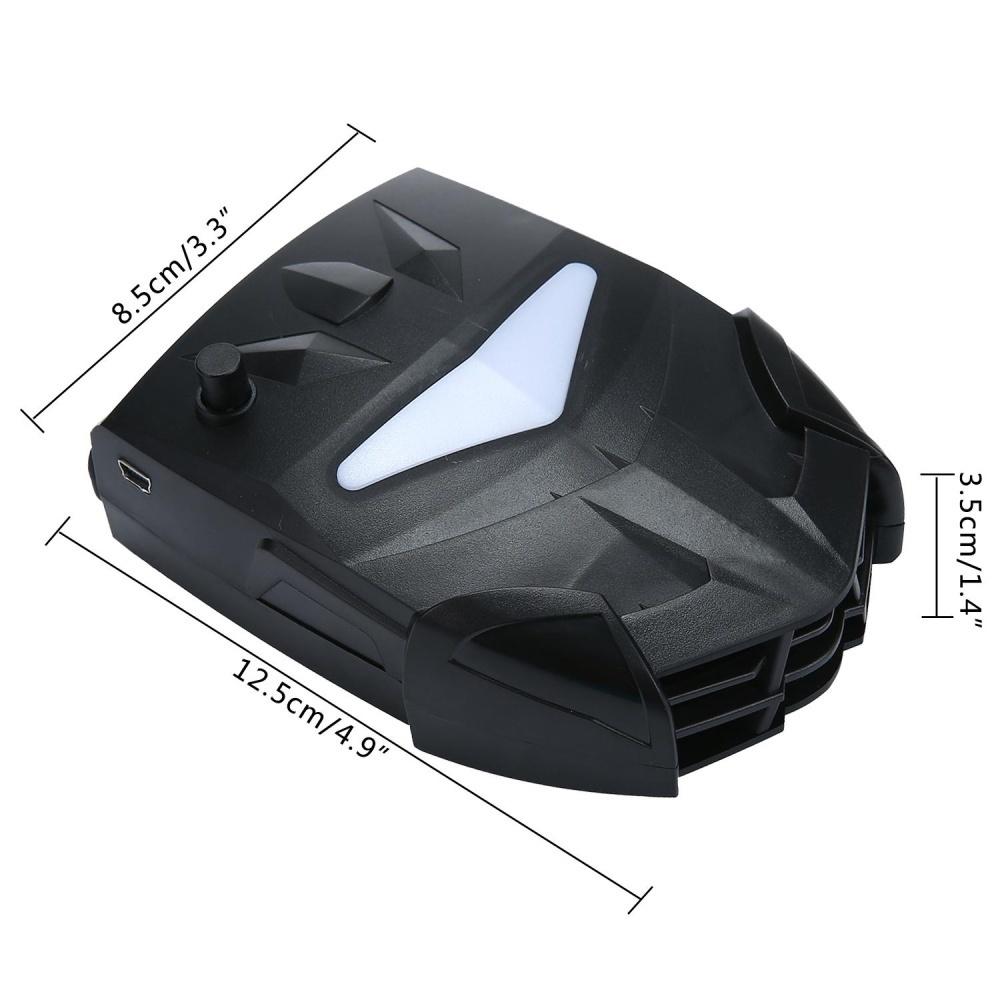 Unique Cooling Pad Kipas Pendingin Laptop Cooler 5 Fan Syc5 Hitam Bigfan Coolerpad Nc33 Angin B9 Source Yang Membedakan Bantalan